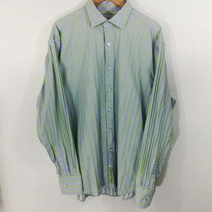 Robert Graham Button Up Shirt Size 2XL